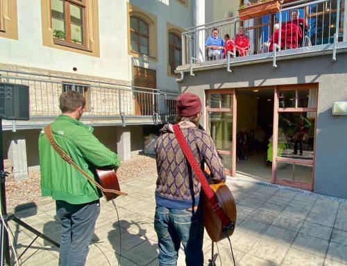 Konzert für die Bewohner unserer Villa Weiss